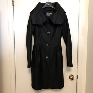 Authentic Mackage black women wool blend coat XS
